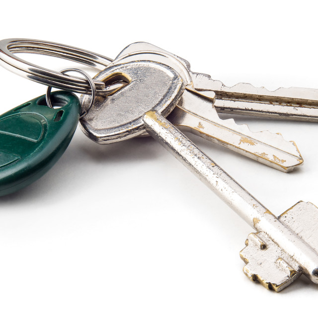 """Home Keys"" stock image"