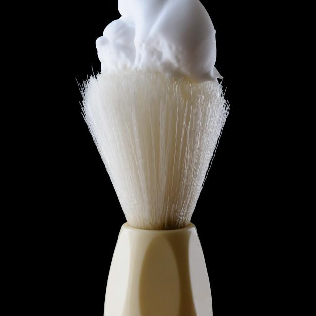 """Shaving Brush"" stock image"