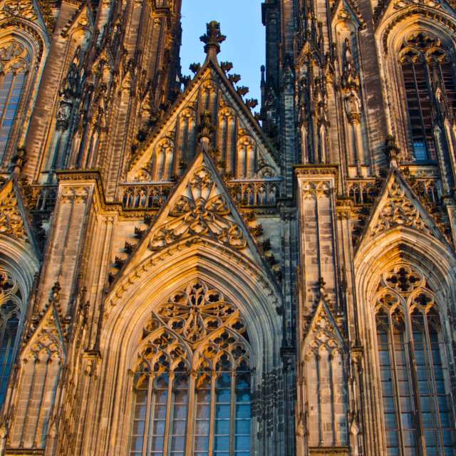 """The Dom in Cologne"" stock image"