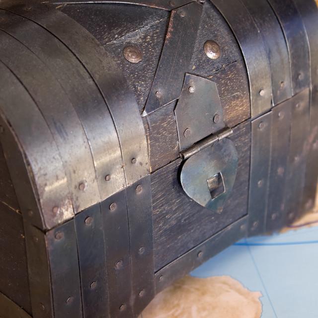 """Treasure box"" stock image"