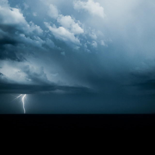 """Lightning Strike"" stock image"