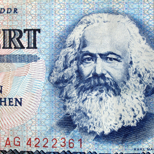 """Karl Marx"" stock image"