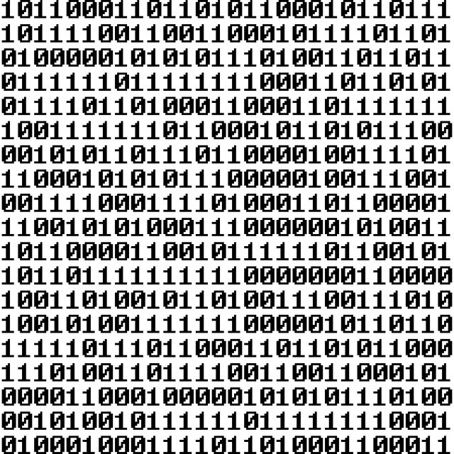 """Binary"" stock image"