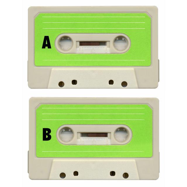 """""""Tape cassette"""" stock image"""