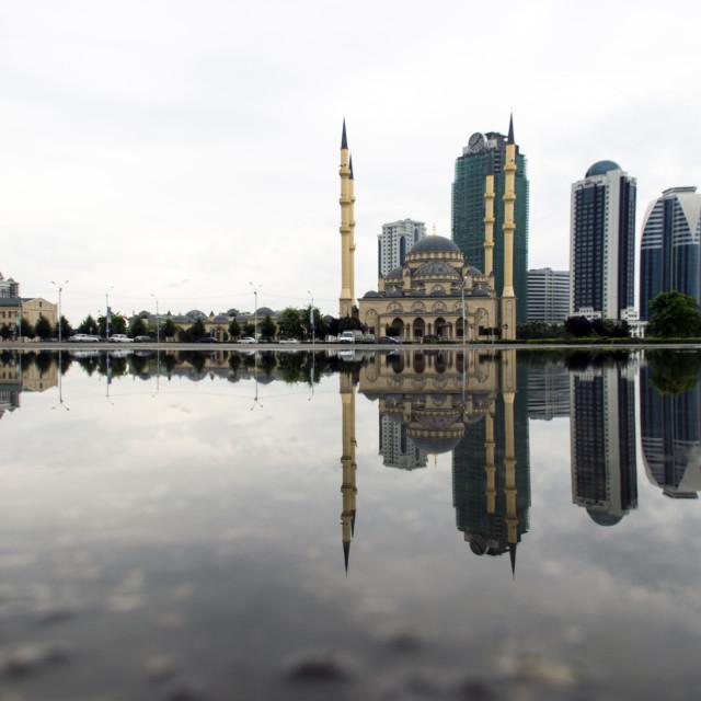 """""""Grozny Skyline"""" stock image"""