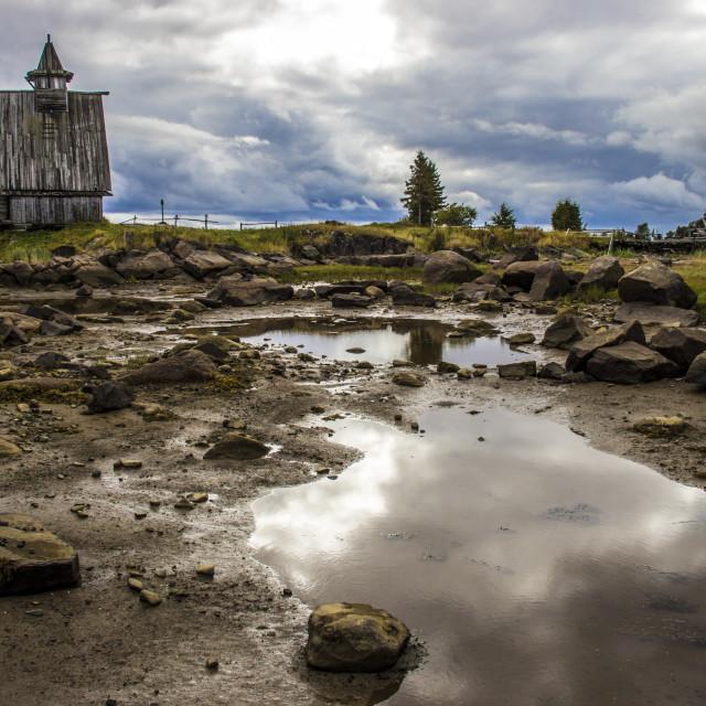 """""""Karelian church"""" stock image"""