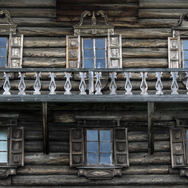 """Wooden house"" stock image"