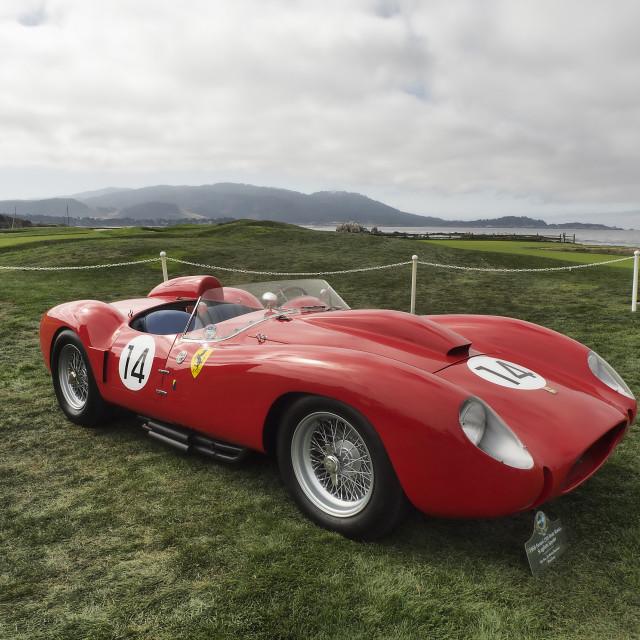 """1958 Ferrari 250 Testa Rossa"" stock image"