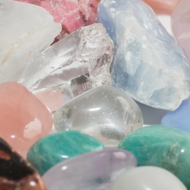 """Semi-precious gemstones"" stock image"