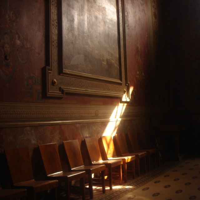 """Waiting Room"" stock image"