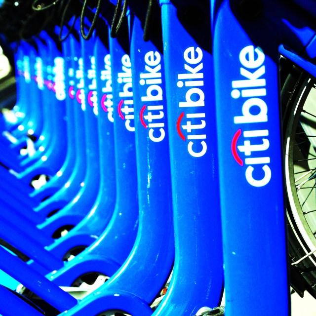 """CitiBikes NYC"" stock image"