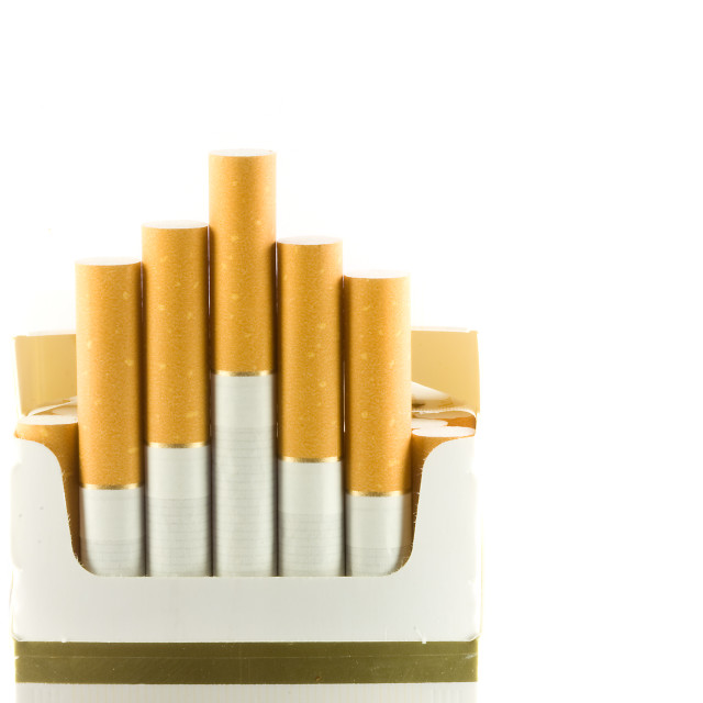 """Cigarettes"" stock image"