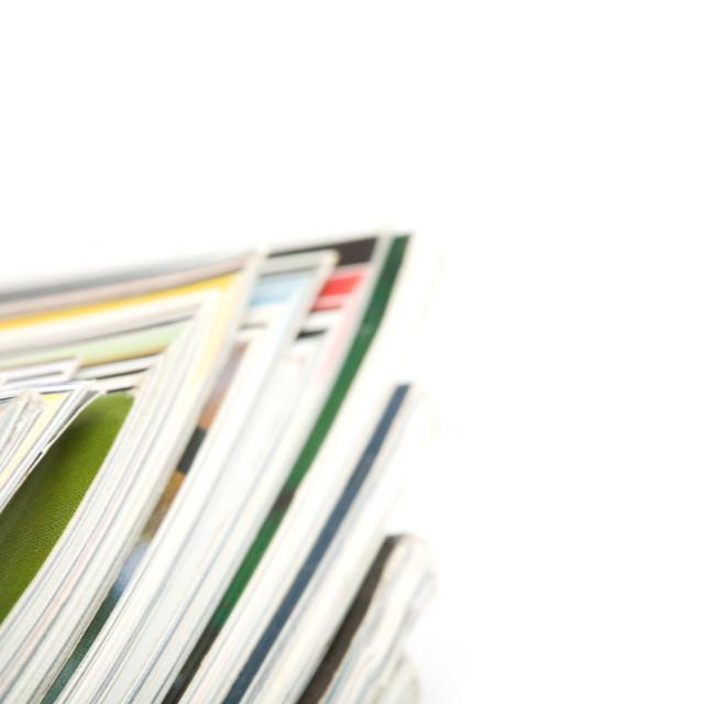 """Magazines"" stock image"