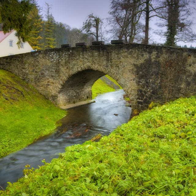 """""""Stone bridge"""" stock image"""