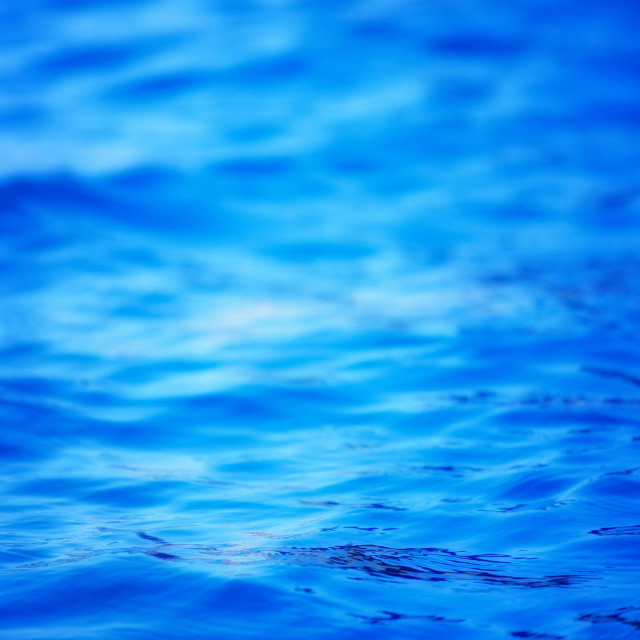 """Nature background, blue water"" stock image"