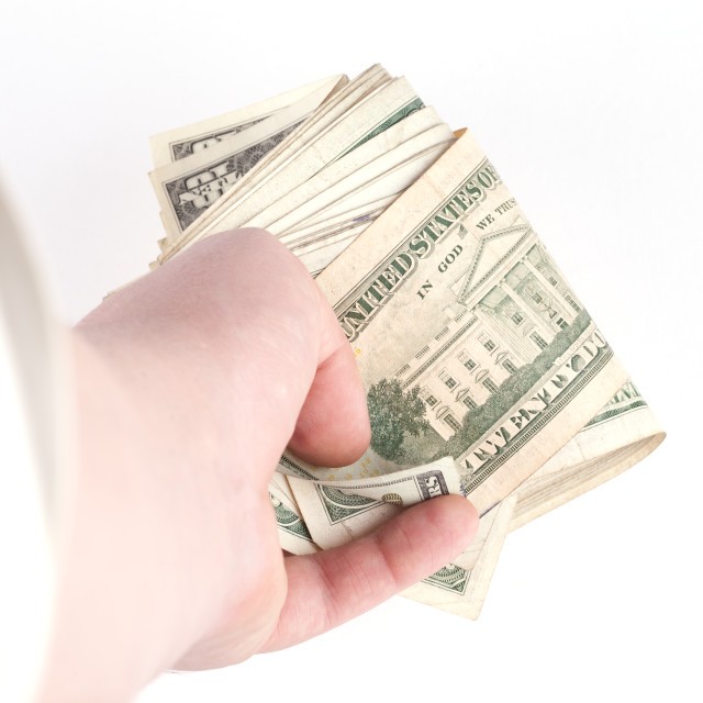 """""""US dollars background , paying concept"""" stock image"""