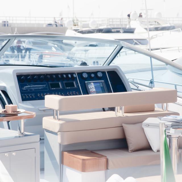 """Luxury boat"" stock image"