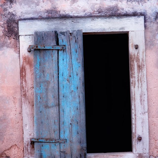 """Old window"" stock image"