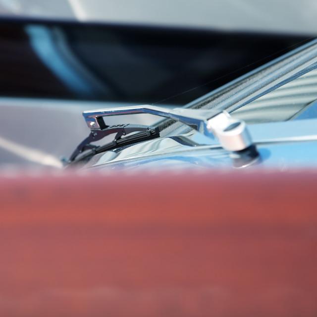 """Modern boat detail"" stock image"