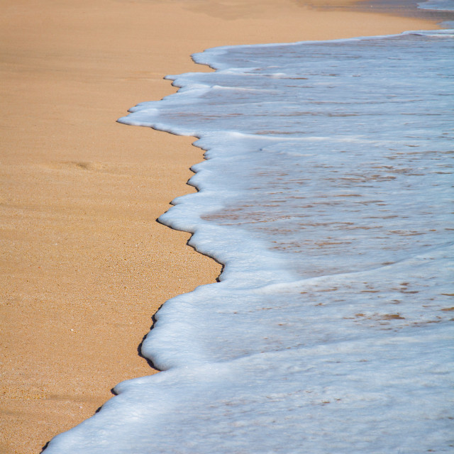 """""""Tropical sand beach background"""" stock image"""