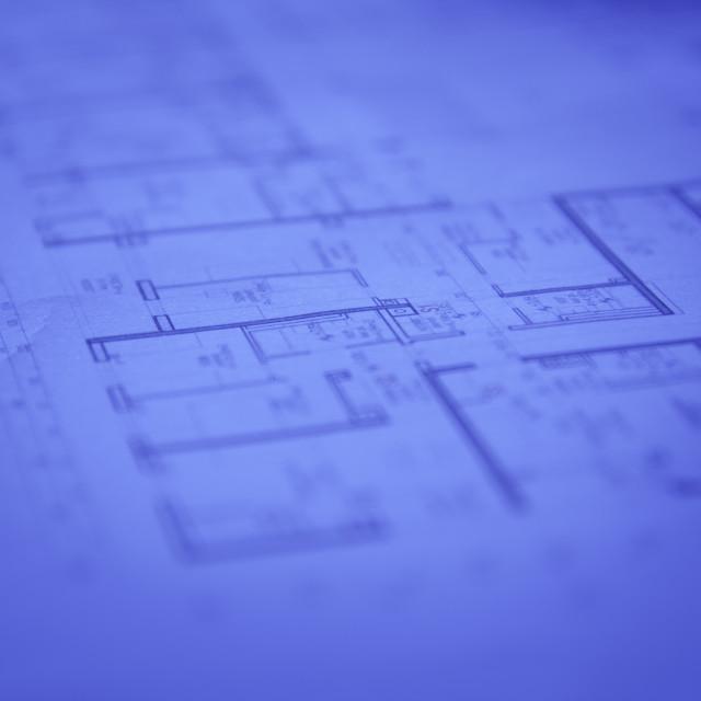 """Blueprints"" stock image"