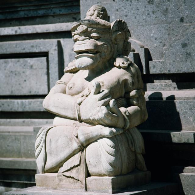 """Balinese god statue"" stock image"