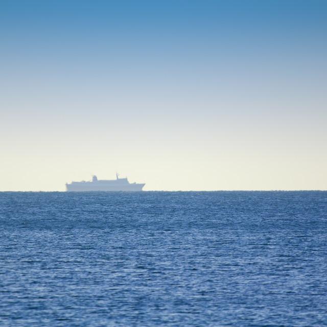 """Transport ship"" stock image"