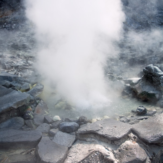"""Hot spring"" stock image"