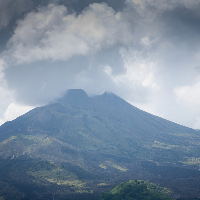 """Indonesian vulcano"" stock image"