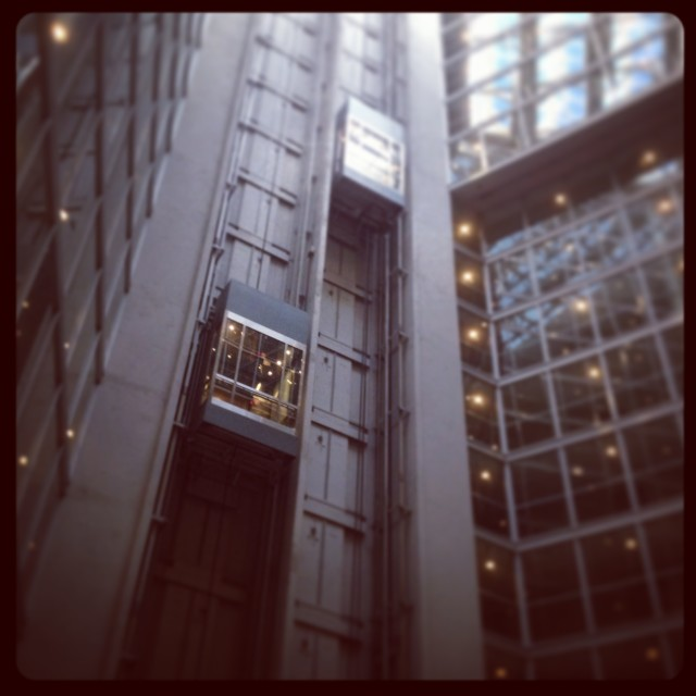 """Elevator ...."" stock image"