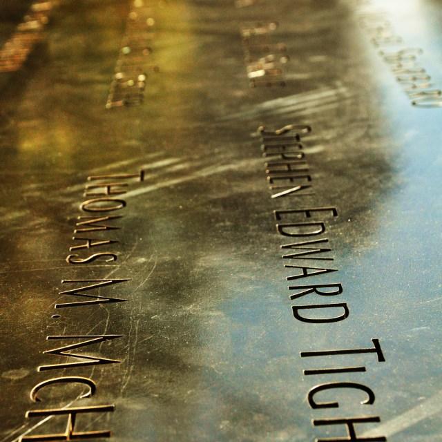 """""""911 Memorial"""" stock image"""