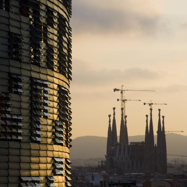 """Sagrada Familia, Barcelona"" stock image"