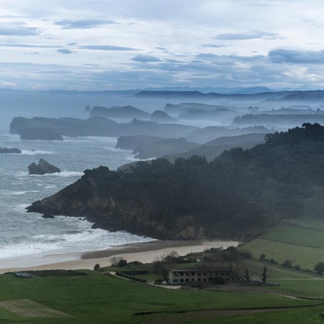 """""""Asturias, Spain"""" stock image"""