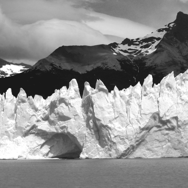 """""""Perito Moreno glacier"""" stock image"""