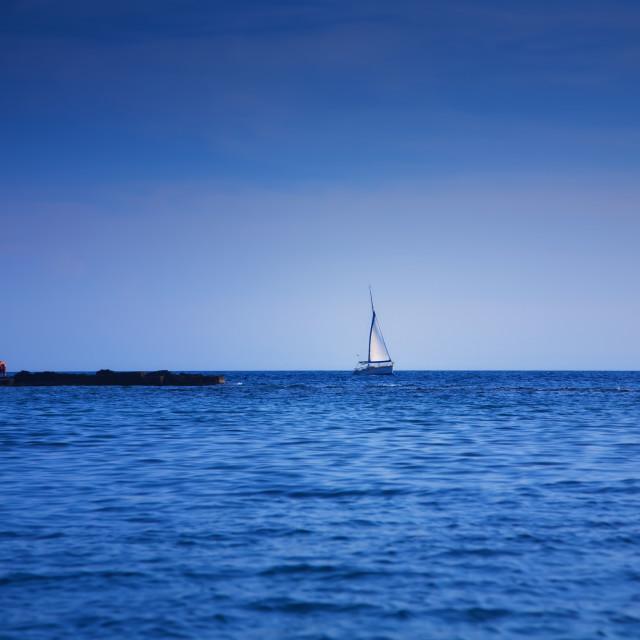 """Sailboat"" stock image"