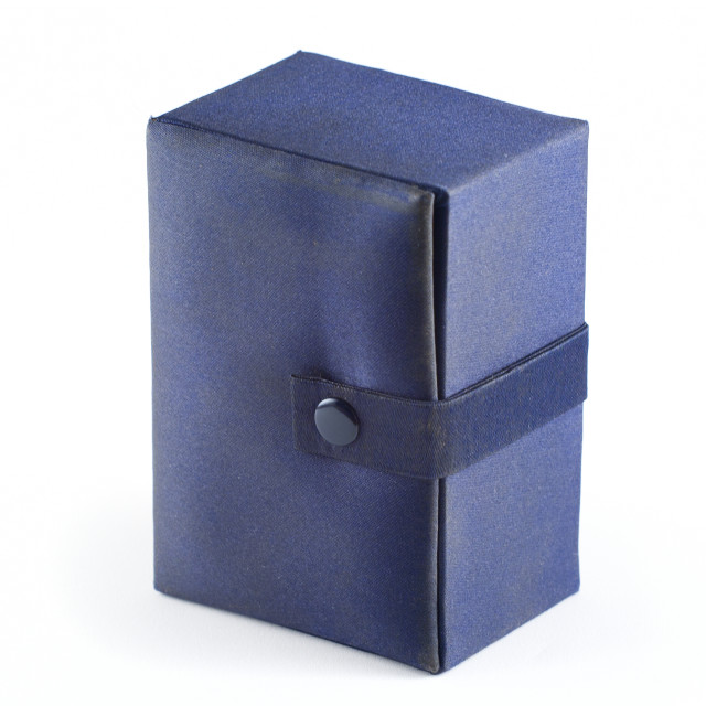 """Blue box on white"" stock image"