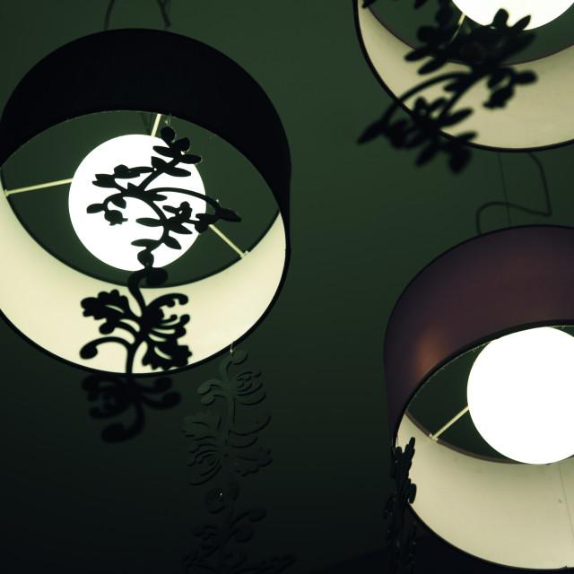 """""""Asian lanterns"""" stock image"""