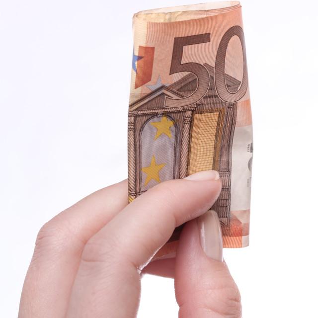 """50 Euro"" stock image"