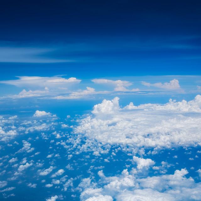 """Beautiful skyscape"" stock image"