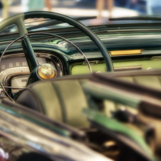 """Classic car detail"" stock image"