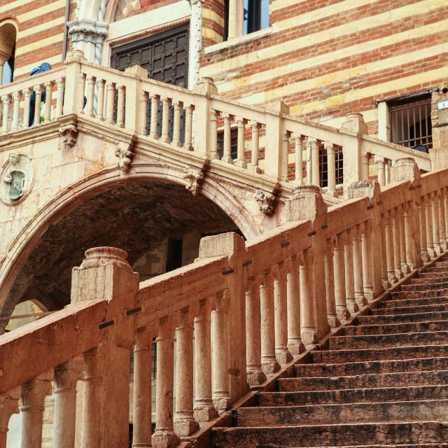 """""""Historic architecture in Verona"""" stock image"""