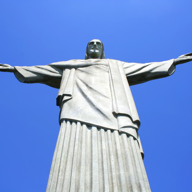 """Christo Statue in Rio de Janeiro"" stock image"