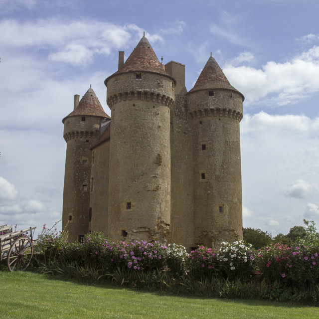 """Chateaux"" stock image"