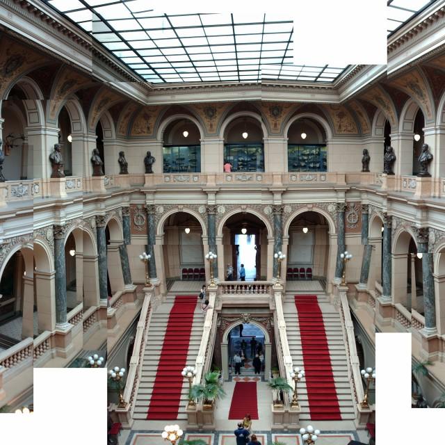 """Prague national museum"" stock image"