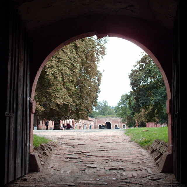"""Arch at Terezin"" stock image"