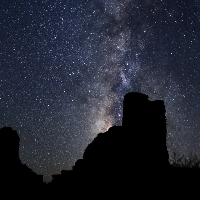 """Milky Way Panoramic"" stock image"