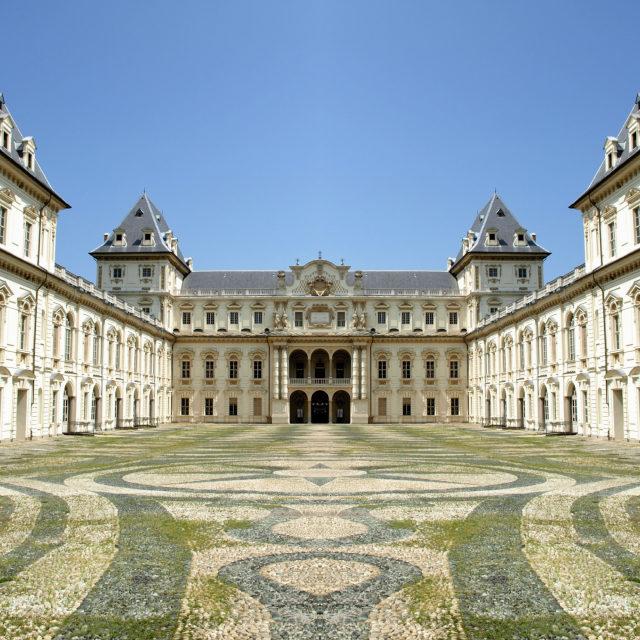 """""""Castello del Valentino Turin"""" stock image"""