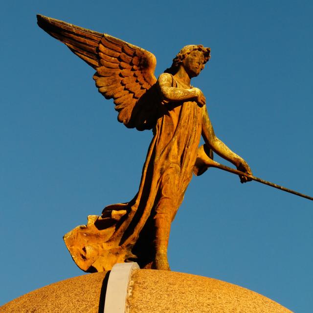 """""""La Recoleta Cemetery"""" stock image"""