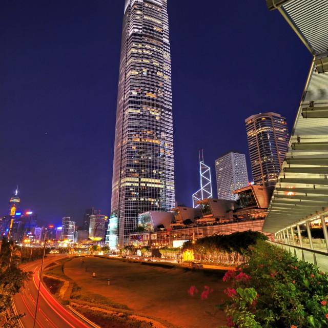 """Hong Kong International Finance Centre"" stock image"