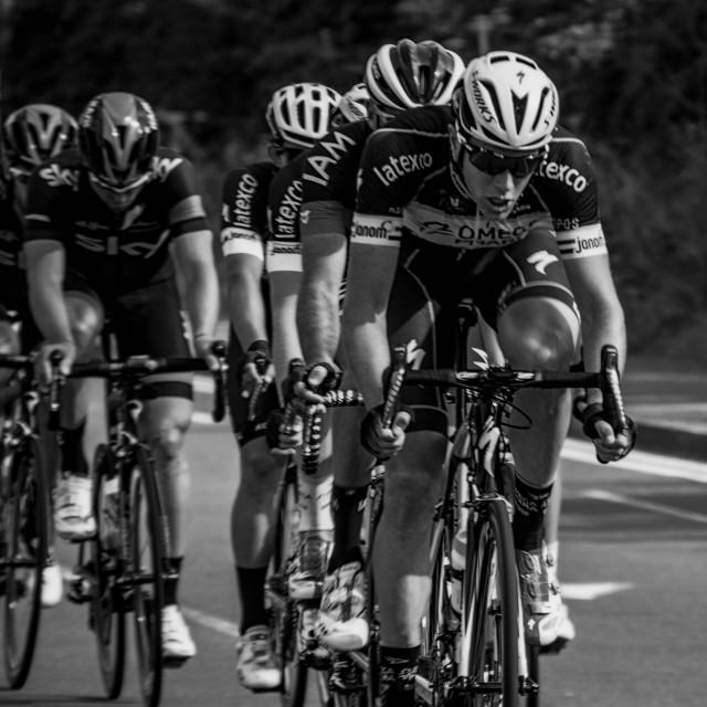 """Tour of Britain 2014"" stock image"